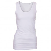 Long Stretch Top hvid (white)