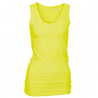 Long Stretch Top Lys gul (light yellow)