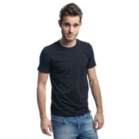 Mens Stretch T-shirt sort (black)