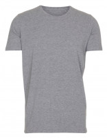 Mens Stretch T-shirt Oxford grå ( Oxford grey)