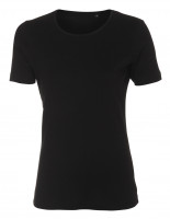 Lady Cotton T-shirt sort (black)
