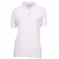 Lady Polo T-shirt hvid (white)