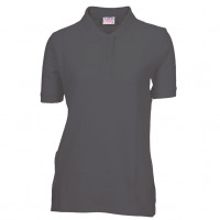 Lady Polo T-shirt sort (black)