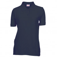 Lady Polo T-shirt mørk navy blå (Dark navy)