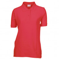 Billig Polo shirt til - Lady Polo T-shirt rød (red)