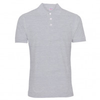 Uni Polo T-shirt Oxford grå ( Oxford grey)