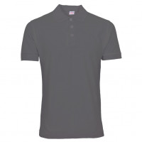 Uni Polo T-shirt stålgrå (steel grey)