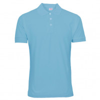 Uni Polo T-shirt Lys blå (Light Blue)