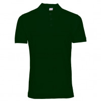 Uni Polo T-shirt flaskegrøn (bottle green)