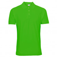 Uni Polo T-shirt Lime