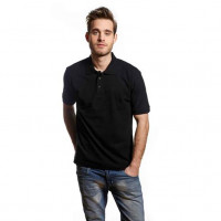 Work Wear Polo T-shirt sort (black)