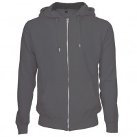 Hooded Zip Sweat Hættetrøje sort (black)