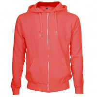 Hooded Zip Sweat Hættetrøje rød (red)