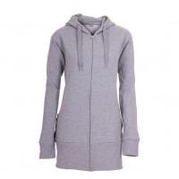 Hooded Zip Lady Hættetrøje Oxford grå ( Oxford grey)