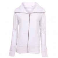 Lady Zip Sweat Sweatshirt hvid (white)