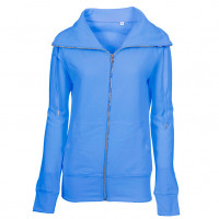 Lady Zip Sweat Sweatshirt Lys turkis (light turquoise)