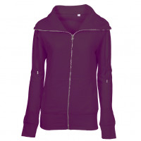 Lady Zip Sweat Sweatshirt lilla (violet)