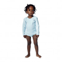 Baby Body LS lyseblå (light blue)