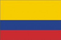 Colombia flag 90 x 150 cm