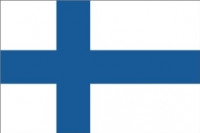 Finsk national flag