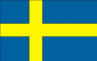 Svensk national flag