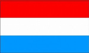 Luxembourg flag 90 x 150 cm