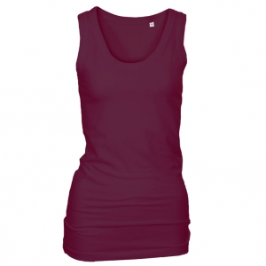 Long Stretch Top lilla (violet)