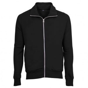 Mens Zip Sweat Sweatshirt sort (black)
