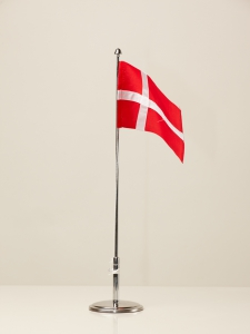 Bordflagstang med split flag