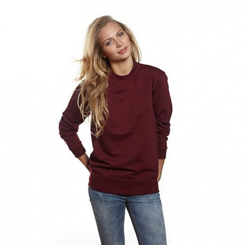 Heavy Sweat Sweatshirt burgundy
