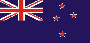 New Zealand flag 90 x 150 cm